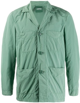 Aspesi Pijungle single-breasted jacket