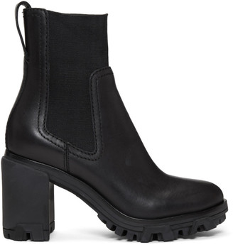 Rag & Bone Black Shiloh High Boots