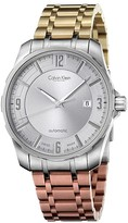 Calvin Klein Collection Mixed Metal Automatic Watch