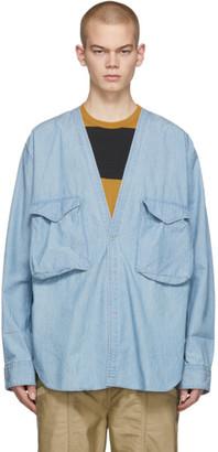 Nonnative Indigo Carpenter Shirt