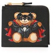 Moschino Teddy Bat Zip Around Wallet