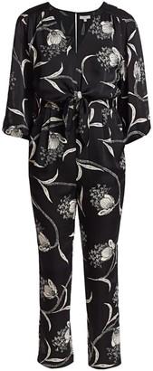Joie Shaila Butterfly Floral Jumpsuit