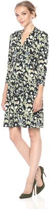 Catherine Malandrino Women's Tinka Dress-Cat Paint L