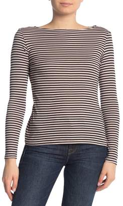 Michael Stars Kailee Striped Long Sleeve T-Shirt