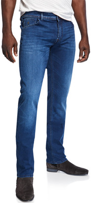 Stefano Ricci Men's Five-Pocket Stretch-Denim Jeans
