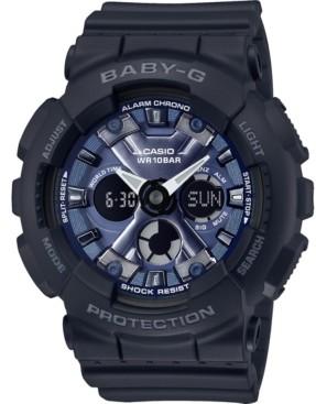 G-Shock Baby-g Women's Analog-Digital Black Resin Strap Watch 43.3mm