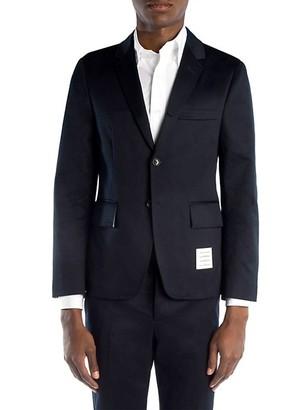 Thom Browne Cotton Twill Unconstructed Blazer
