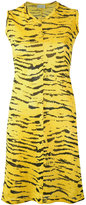 Aries tiger print dress - women - Polyester - 1