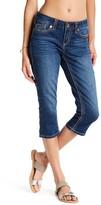 Seven7 Roll Cuff No Destruction Crop Jeans