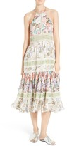 Rebecca Taylor Women's Mixed Print Midi Dress