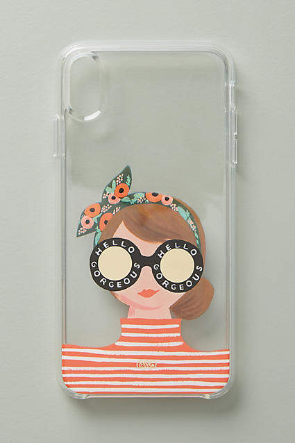 Rifle Paper Co. Hello Gorgeous iPhone Case By Rifle Paper Co. in Assorted Size L