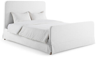 Lovell Slipcover Bed - White - Bee & Willow Home