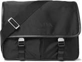 Prada Leather-Trimmed Nylon Messenger Bag