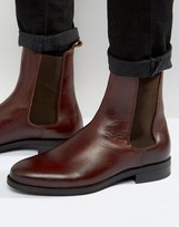 Zign Shoes Leather Chelsea Boots