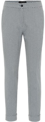 Etro High-rise cotton-jacquard pants
