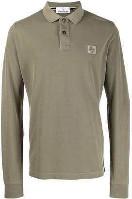 Stone Island longsleeved polo shirt
