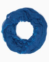 Charming charlie Two Toned Ocean Net Scarf