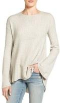 Hinge Drapey Pleat Back Sweater