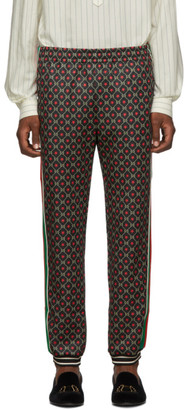 Gucci Black GG Star Print Lounge Pants