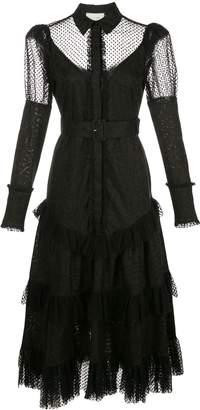 Alexis Evarra ruffle dress