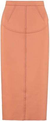 N°21 N.21 Zip Detail Pencil Skirt