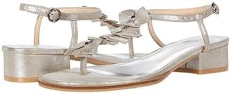 Jack Rogers Bella Sandal (Silver) Women's Shoes