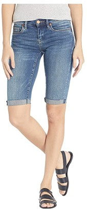 Blank NYC Denim Bermuda Roll Up Shorts in Vendetta (Vendetta) Women's Shorts