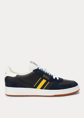 Ralph Lauren Court Leather Sneaker