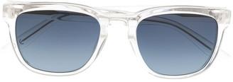 Barton Perreira Square Frame Tinted Sunglasses