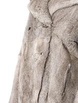 Marni Double-breasted fur coat