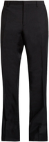 Burberry Flared-leg mohair and wool-blend trousers