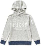 Lucky Brand Little Boys 2T-7 Logo Hoodie