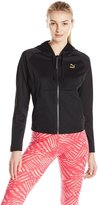 Puma Women's Mesh Hooded Track Jacket