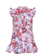 Erdem Lisa floral-print cotton-poplin top