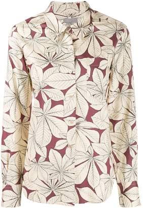 Margaret Howell leaf print shirt