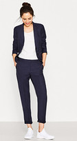 Esprit Blazer with a fine texture in blended linen