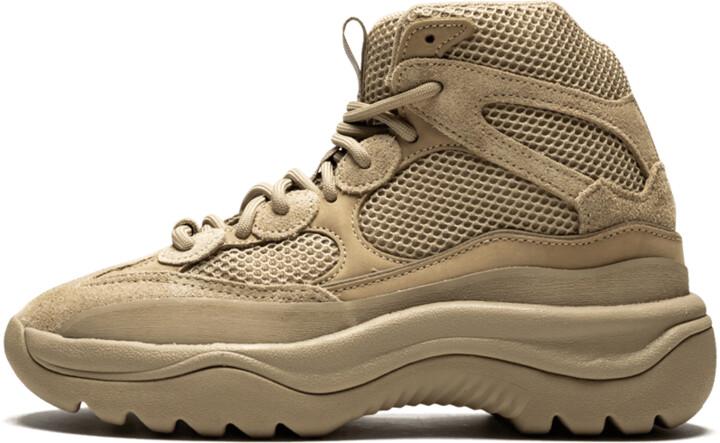 Adidas Yeezy Desert Boot 'Rock' Shoes - Size 4
