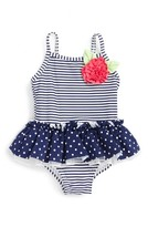 Little Me Infant Girl's Skirted One-Piece Swimsuit