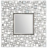 Ren Wil Ren-Wil Mt1296 Opie Wall Mount Mirror by Kelly Stevenson and Jonathan Wilner, 46 by 46-Inch