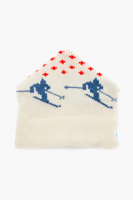 Gents Harding Lane Cream Wool Apres Ski Hat
