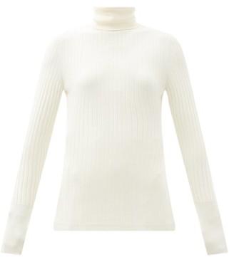 Joseph Ribbed-jersey High-neck Sweater - Ivory
