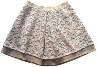 Patrizia Pepe Pink Skirt for Women