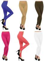 ICONOFLASH Women's Bundle Fleece Lined Legging Packs, (6-Pairs, )