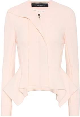 Roland Mouret Lavenden peplum wool jacket