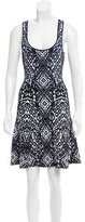 Torn By Ronny Kobo Abstract A-Line Dress