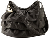 Roxy 'Ruffled Up' Washed Faux Leather Bag
