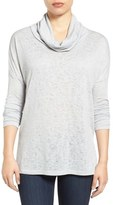 Caslon Cowl Neck Tunic (Regular & Petite)