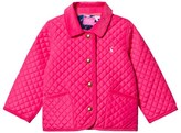 Joules Bright Pink Quilted Jacket