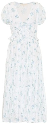 LoveShackFancy Carlton floral cotton dress