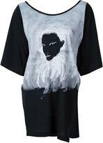 Yohji Yamamoto hand printed T-shirt